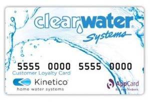 Clearwater Systems Loyalty Card
